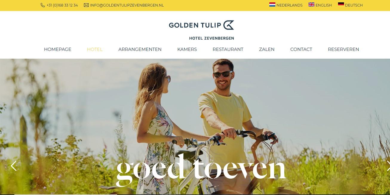 Hotel Zevenbergen (webteksten opgefrist)